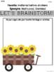 Fall Opinion Writing Project: Sunflower Theme