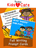 Fall Writing Prompt Cards - Full Set