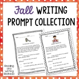 Fall Writing Prompt Collection - NO PREP