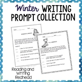 Winter Writing Prompt Collections - NO PREP - {Common Core