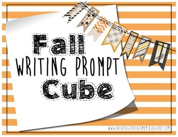 Fall Writing Prompt Cube 2.0