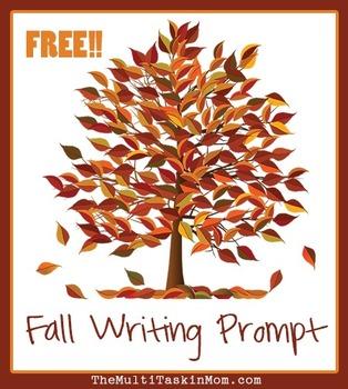 Fall Writing Prompt Freebie