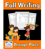 Fall Writing Prompt Pack