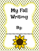 Fall Writing Prompt Packet