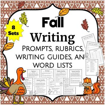 Fall Writing Prompt Packets
