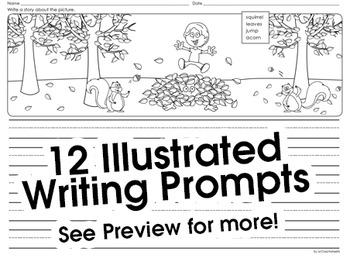 Fall Writing Prompts October - November