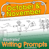 Fall Writing Prompts October - November