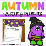Fall Writing Prompts   Writing Craftivity