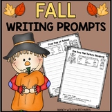 Fall Writing Prompts | Back to School Activities | Fall Activities