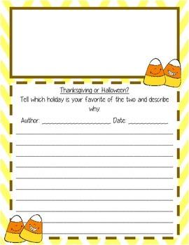 Fall Writing Prompts - Bundle