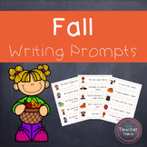 Fall Writing Prompts {Fall Writing Pages Included!}