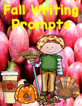 Fall Writing Prompts Freebie!! by Creative Works