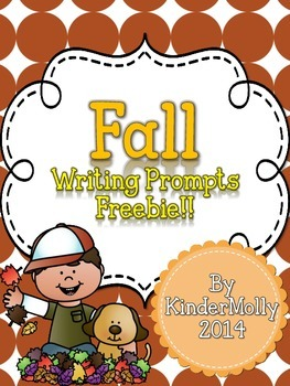 Fall Writing Prompts Freebie!