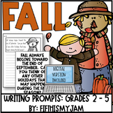 Fall // Writing Prompts: Grades 2 - 5