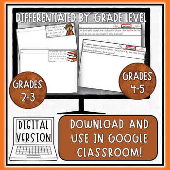 Fall // Writing Prompts: Grades 2 - 5
