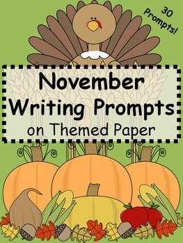 Fall Writing Prompts {Just Print & Go!}