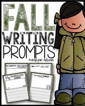 Fall Writing Prompts [K-3]