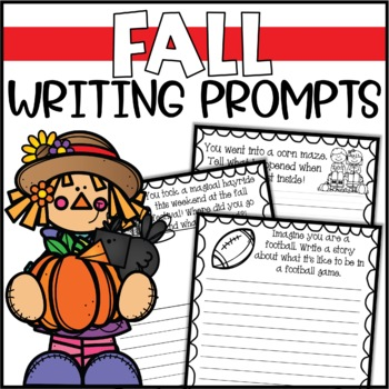 Fall Writing Prompts & Page Topper Craftivities