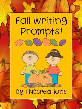 Fall Writing Prompts Worksheets