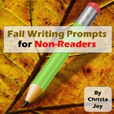 Fall Writing Prompts for Special Education