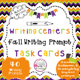 Fall Writing Prompts for Writing Centers-Upper Elementary