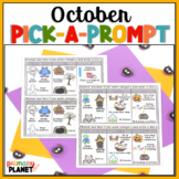 Fall Writing Prompts with Pictures | October Picture Writi