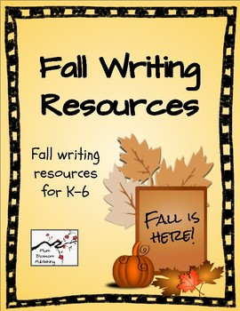 Fall Writing Resources