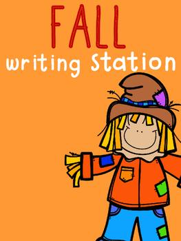 Fall Writing Station
