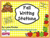 Fall Writing Stations
