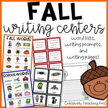 Fall Writing Stations