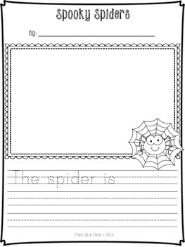 Fall Writing Templates for K-1