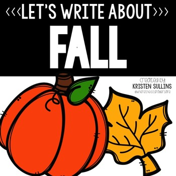 Fall Writing Webs and Drafts
