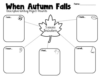 Fall Writing: When Autumn Falls (Descriptive Writing Assignment)