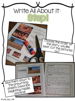 Fall Writing Activities- Interactive Narrative Writing