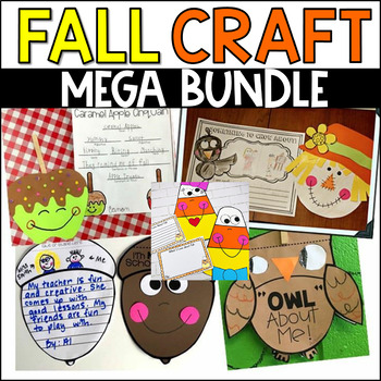 Fall Writing and Crafts