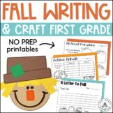 Fall Writing First Grade