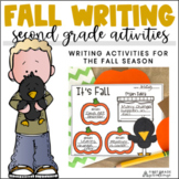 Fall Writing Second Grade | Fall Writing Prompts and Activities