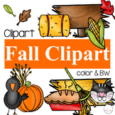 Fall Y'all {Fall Clipart}