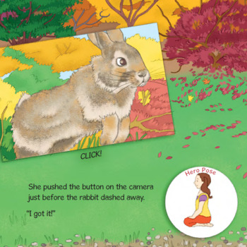 Fall Yoga Book for Kids - Trish's Fall Photography