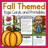 Fall Yoga Cards and Printables