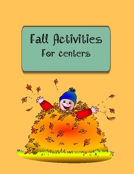 Fall activities for centers