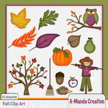 Fall and Autumn Clip Art