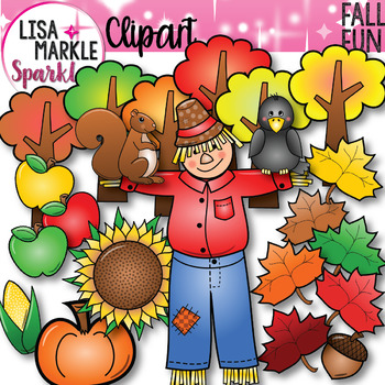 Fall and Autumn Fun Clipart Set