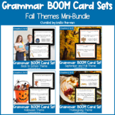 Fall and Autumn, Halloween, and Thanksgiving Grammar BOOM