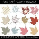 Fall and Autumn Leaf Clip Art