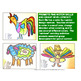 Fine Motor Fall and Farm Animal Design Color by Number Skills Labs for Centers