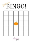 Fall and Halloween Bingo