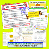 Fall and Halloween Bundle of Comprehension and Literacy Items