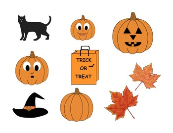 Fall and Halloween Clipart - FREEBIE