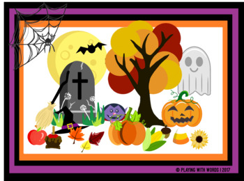 Fall and Halloween Clipart Mini Bundles- Combo Pack